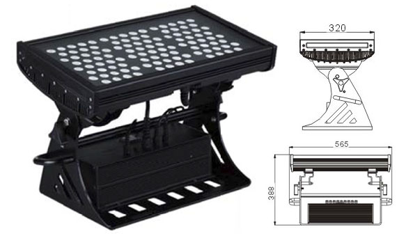 قاد مصنع تشونغشان,مصباح الجدار LED الجدار,500W ساحة IP65 LED ضوء الفيضانات 1, LWW-10-108P, KARNAR INTERNATIONAL GROUP LTD