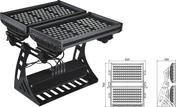 Guangdong udhëhequr fabrikë,e udhëhequr nga drita industriale,250W Square IP65 LED dritë përmbytjeje 2, LWW-10-206P, KARNAR INTERNATIONAL GROUP LTD