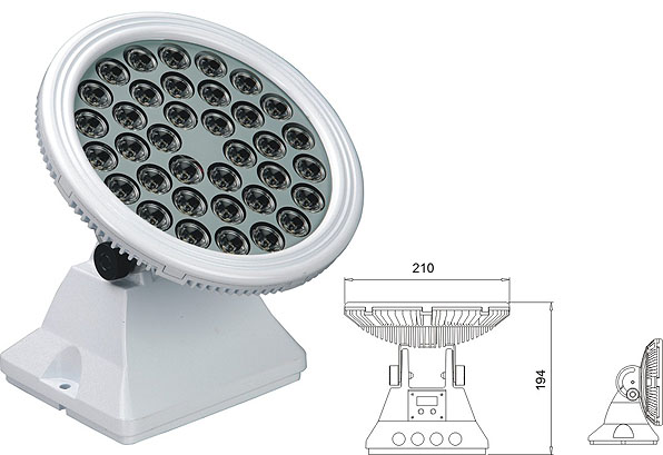 Led drita dmx,Dritat e rondele me ndriçim LED,25W 48W Sheshi me rondele mur LED 2, LWW-6-36P, KARNAR INTERNATIONAL GROUP LTD