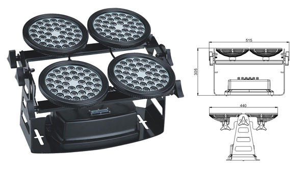 قاد مصنع تشونغشان,أضواء LED الجدار غسالة,غسالة الجدار LED 155W 1, LWW-8-144P, KARNAR INTERNATIONAL GROUP LTD