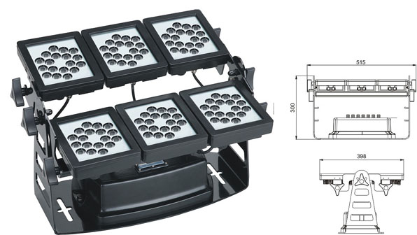 ዱካ dmx ብርሃን,የ LED ግድግዳ መሸፈኛ መብራቶች,220W የ LED flood flood 1, LWW-9-108P, ካራንተር ዓለም አቀፍ ኃ.የተ.የግ.ማ.
