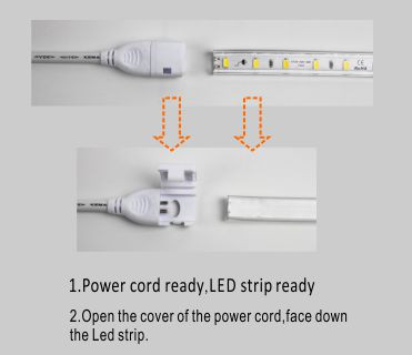 Led drita dmx,LED dritë litar,110V AC Nuk ka Wire SMD 5730 LEHTA LED ROPE 5, install_1, KARNAR INTERNATIONAL GROUP LTD