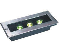 Ilipigwa mwanga wa dmx,LED imefungwa mwanga,6W Mwanga wa Mraba 6, 3x1w-120.85.55, KARNAR INTERNATIONAL GROUP LTD