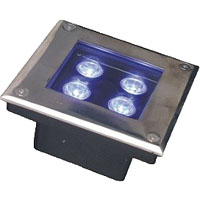Led drita dmx,LED varrosur dritën,Product-List 1, 3x1w-150.150.60, KARNAR INTERNATIONAL GROUP LTD